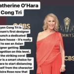 Lễ trao giải Emmy 2021 nhà Mốt CONG TRI cực HOT  với 3 thiết kế dự sự kiện tại thảm đỏ này